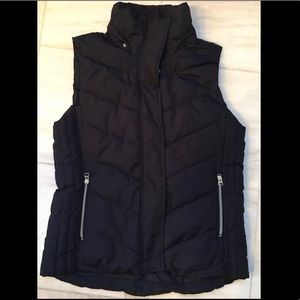 Warm Navy Puffy Vest